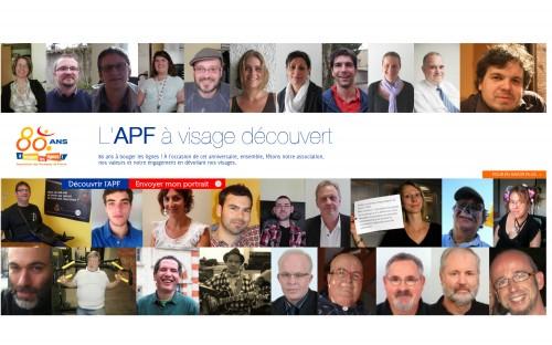 L'APF à visage découvert